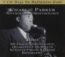 CHARLIE PARKER - ANTHOLOGY 5 CD NEU