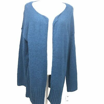 NEW UGG Cardigan Sweater 65% OFF Size L MSRP $178 Fiona Blue Duster Sweater | eBay