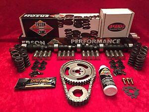 Erson SBC Chevy Performance Hyd Flat Tappet E110421-K 296°//296° Cam /& Lifter Kit