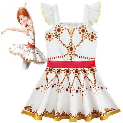 Girls' Clothing (sizes 4 & Up) 2018 New Girls Movie Ballerina Leap Felicie Dress Costume Tutu Skirt Dress K105