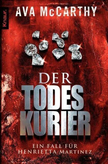 Der Todes Kurier  Ava McCarthy   Thriller Taschenbuch  ++Ungelesen++