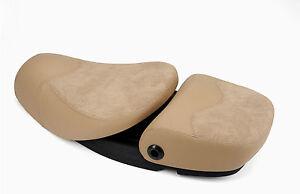 sitzbank piaggio beige retrostyle 2 sitzer f r vespa s et2. Black Bedroom Furniture Sets. Home Design Ideas