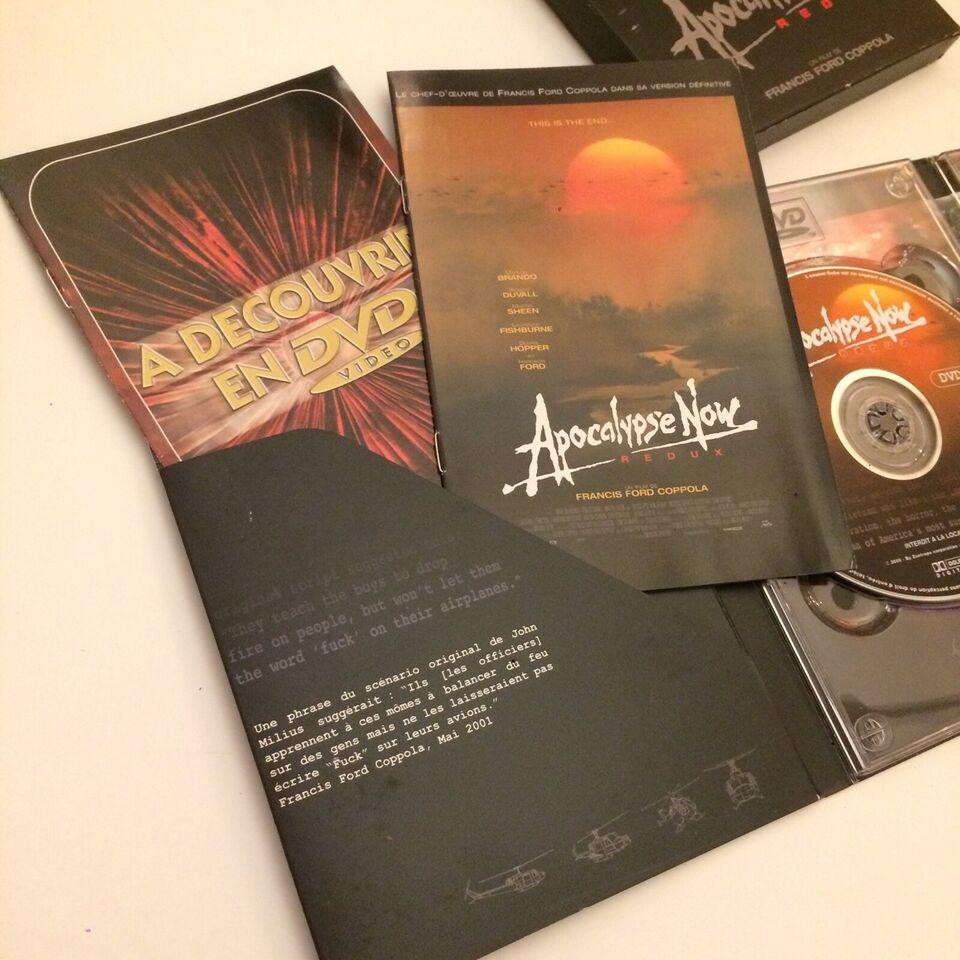 Apocalypse Now Redux (2 dvd), instruktør Francis Ford