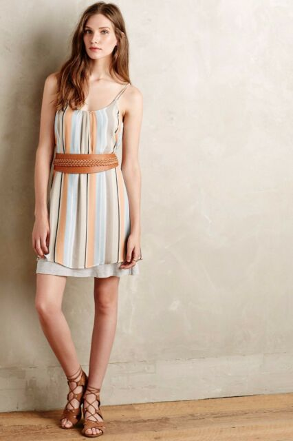 f2d37b8e9cd7d New $128 Anthropologie Layered Laurel Dress by Dolan Left Coast Var ...