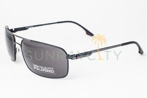 Image is loading Carrera-60-Black-Gray-Polarized-Sunglasses-60-S- fae697833e2