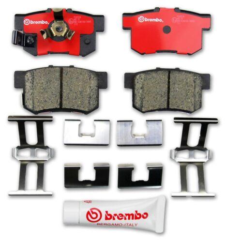 Rear Brembo P28051N Disc Brake Pad Premium Ceramic OE Alternative