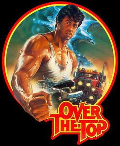 80's Stallone Classic Over the Top Poster Art custom tee Any Size Any Color Clothing, Shoes & Accessories Men's Clothing