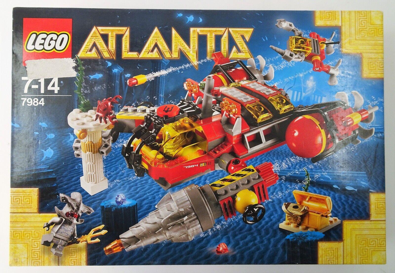 Lego Atlantis Bohr U Stiefel 7984 - NEU NEW