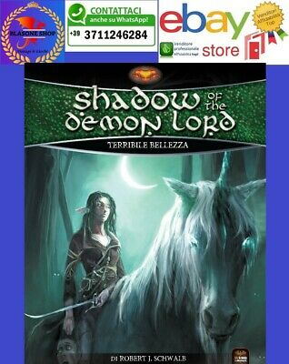 Onesto Shadow Of The Demon Lord Terribile Bellezza Manuale Gdr Fantasy Italiano Wird Prestazioni Affidabili