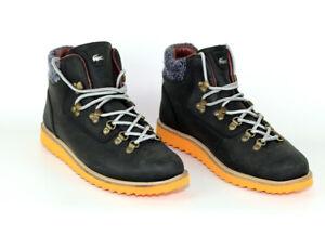 Lacoste-Leder-Schuhe-Boots-Wanderstiefel-Rydal-OU-Groesse-42-UK-8-NEUWERTIG