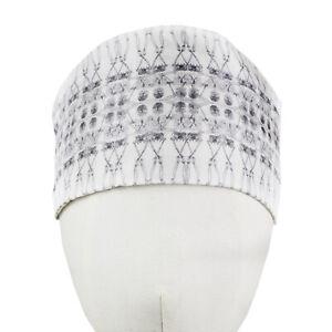 Thomas-Wylde-White-Grey-Skeleton-Pattern-Silk-Headband