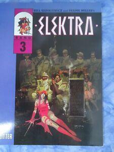 ELEKTRA Band 3 (BILL SIENKIEWICZ und FRANK MILLER)