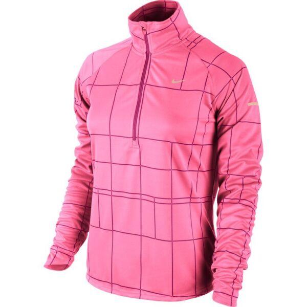 2019 Moda Nike Donna Restare Caldo Dri-fit Element Jacquard Maglia Per Jogging Risparmia