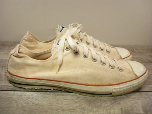 Vintage CONVERSE Chucks Tan All Star Low Top Shoes