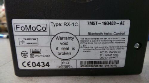 Ford Focus MK2 MK3 Nokia Bluetooth conectividad de voz de caja 7m5t-19g488-ae 05-17