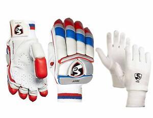 SG Test Club Batting Gloves Combo + club Inner Gloves Men Size