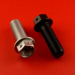 x 25mm Pack x 10 Red 1.25mm Aluminium Allen Bolt M8 x