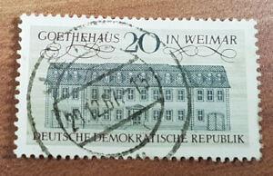 Deine Pfennig rote Briefmarken Wegne-Brücke, die Geschichte datiert