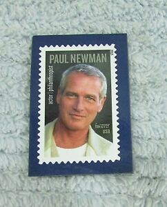 Image Is Loading Paul Newman US Postage Stamp USPS Collector Refrigerator