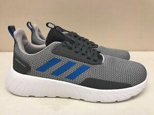 Kids Adidas Questar Drive K Grey Blue