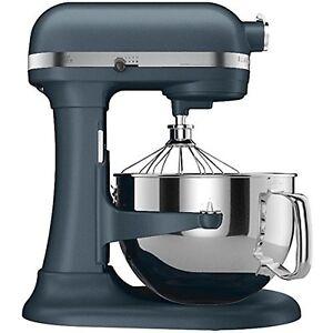 New Kitchenaid Kp26m1xbs Pro 600 Stand Mixer 6 Qt Big