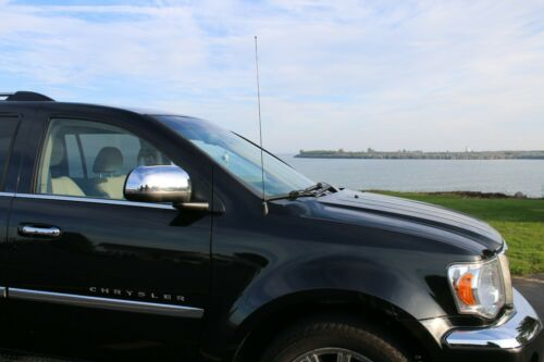 "2006-2009 Pontiac Solstice 31/"" Black Spring Stainless AM//FM Antenna Mast Fits"