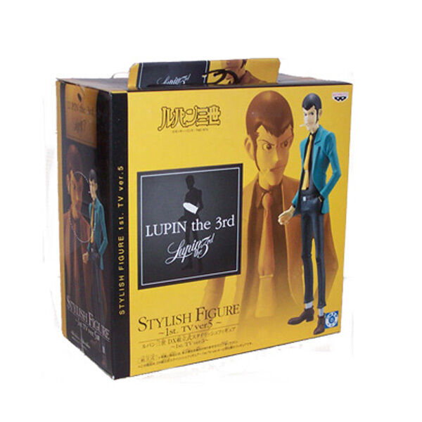 BANPRESTO LUPIN III 1st TV VERS.5 LUPIN Stylish Figure