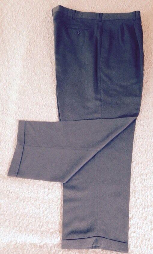 NwT, Geoffrey Beene Classic Wrinkle Free Dress Trouser, Size 42X30, Sage, USA