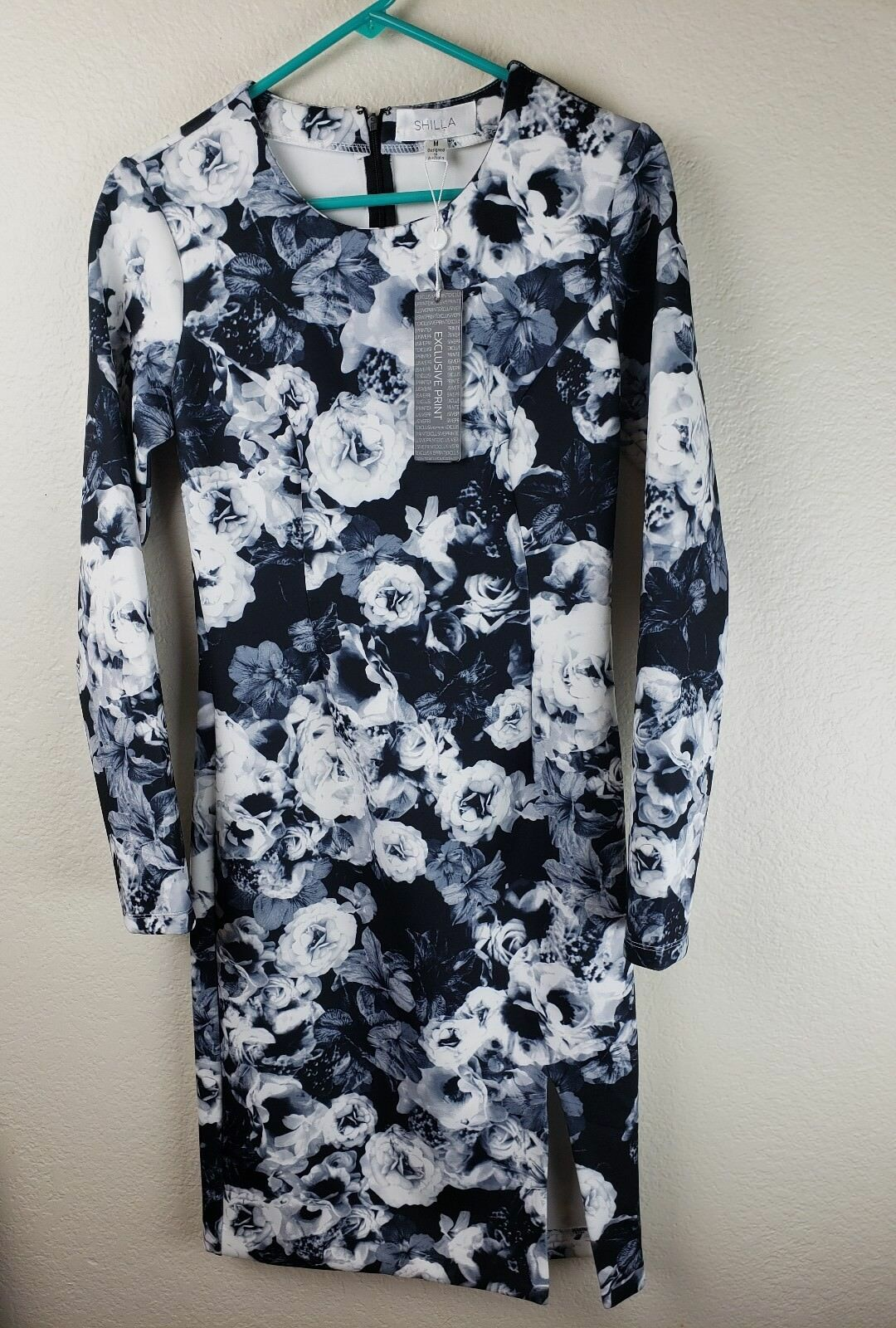 Women's Dress Shilla Shakers Floral Body-con Midi Dress Floral NWT, Medium