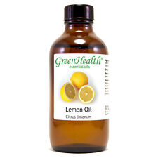 4 fl oz Lemon Essential Oil (100% Pure & Natural) - GreenHealth
