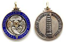 Medaglia Con Smalto CUS Pisano 1968 - Centro Universitario Sportivo Pisano Campi