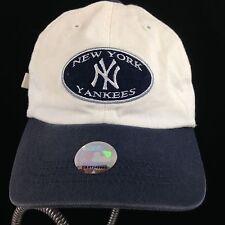 New York Yankees Toddler Baseball Cap White Hat Blue Bill XXS