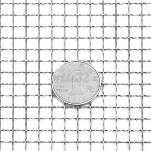 "12/""x12/"" Stainless Steel 304 Mesh #4 Filter Twill weave Wire Cloth Screen"