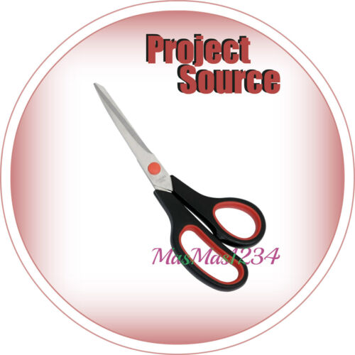 FAST Project Source Stainless Steel 8-1//2-in Plastic Handle Scissors NEW