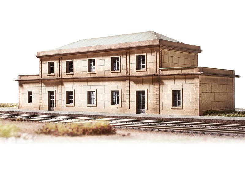 Trix Minitrix 66330 Escala N Kit Construcción Gare Auvers Sur Oisea