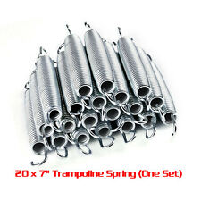 Dia 0.4~2.5mm x L 300mm Extension Expansion Tension Spring Loop Ends Galvanized
