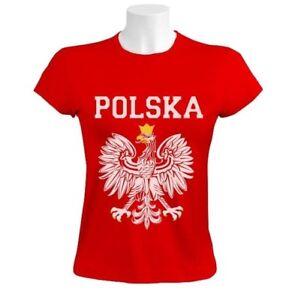 6ae4b0c6f POLSKA EST WHITE EAGLE CREST Women T-Shirt poland polish flag ...