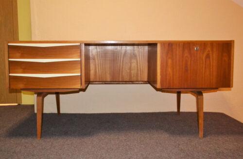 60er 70er Hellerau Werkstätten Schreibtisch 427 Franz Ehrlich Freisteher Desk