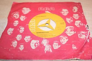 RARE-JAPANESE-ORIGINAL-ELVIS-7-034-SINGLE-DON-039-T-CRY-DADDY-RUBBERNECKIN-039-PC