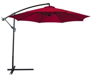 Best Choice Products 10ft Hanging Outdoor Offset Umbrella Patio