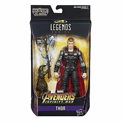 Cull OSSIDIANA MARVEL LEGGENDE Set di 6 THOR antman WASP Black Widow Cavaliere Nero