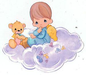 5 Quot 9 5 Quot Precious Moments Boy Angel On A Cloud Wall Safe