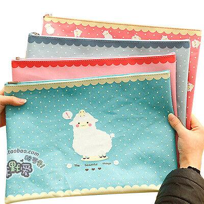 Cute Cartoon Animal A4 Documents File Bag File Folder Stationery Filing Product