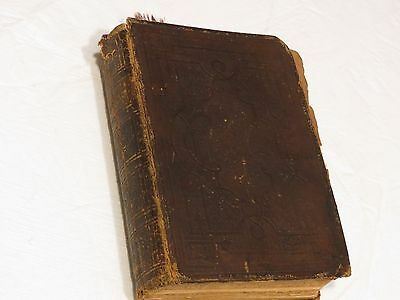 Holy Bible 1878 original tongues Family History death marriages birth records