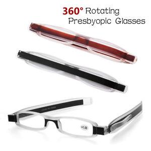 ff74ad350d2 Image is loading Portable-Presbyopic-360-Degree-Rotation-Folding- Anti-Fatigue-