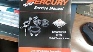 MERCURY MANUAL FOR SMARTCRAFT DIGITAL THROTTLE AND SHIFT 10 PIN ENGINE CONNECTOR