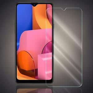 Panzer Folie für Samsung Galaxy A20s Echt Glas Displayschutzfolie Schutzglas 9H