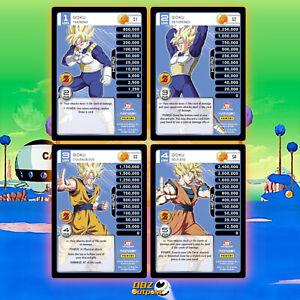 Dragon Ball Z DBZ CCG TCG Custom Proxy Promo MP Set Awakening Goku 1-4 Non-HT!