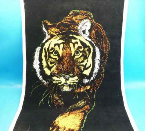 Original Black light Poster TIGER TIGER ! 1972 Velva Print 58 x 88,5cm - (G192