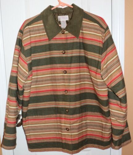 Cambridge Dry Goods Lined Jacket Size Large - image 1